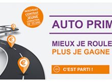 April Auto Primo assurance auto connectée jeune conducteur