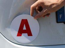 Qu'est-ce que le disque A pour jeunes conducteurs -Appenti-magnetique